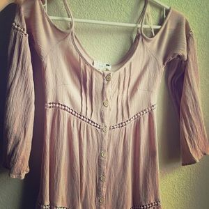 Tops bought two years ago @ Pacsun!
